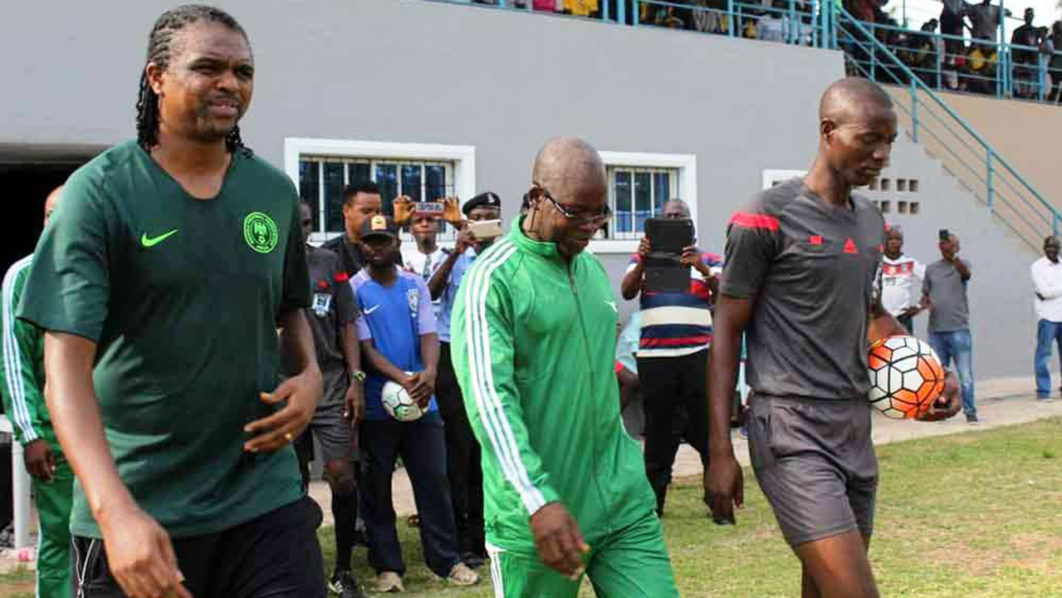 Kanu Canvasses Better Use of Ilaji Stadium Ibadan 9