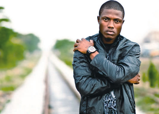 Rapper Olanrewaju Ogunmefun, popularly known as Vector, 1