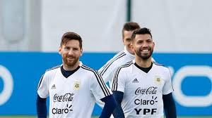 Messi and Aguero In Argentina Copa America Squad. 1