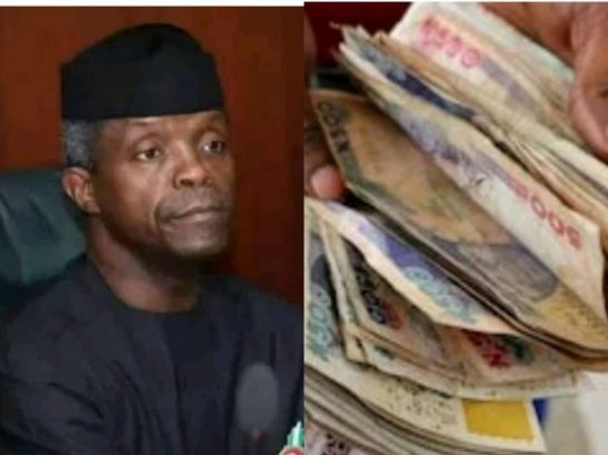 Stop giving bribe to police, immigration, others – Osinbajo