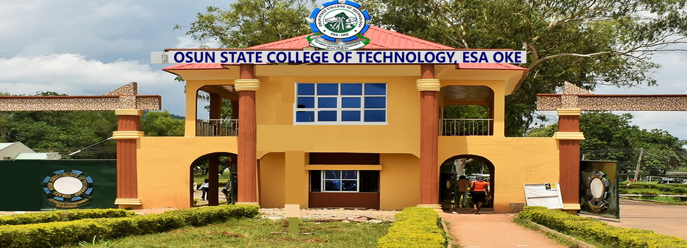 OSCOTECH HND Full-Time Admission Form2019