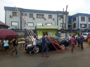Early Morning Rain Wreaks Havoc in Lagos Community 11