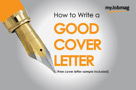 How To Write A Good Cover Letter 2