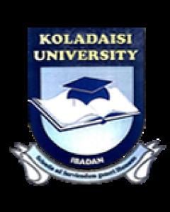 KolaDaisi University (KDU) JUPEB Admission Form for 2019/2020 Academic Session And Registration Guide 1