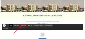 NOUN: Procedure For Registration in Student Portal Login 2019 3