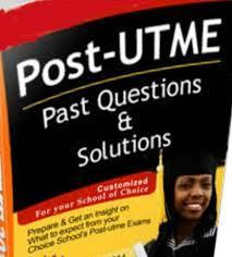 Post-UTME Past Questions & Answers
