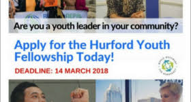Apply For Fully Funded Hurford Youth Fellowship Program 2019 1