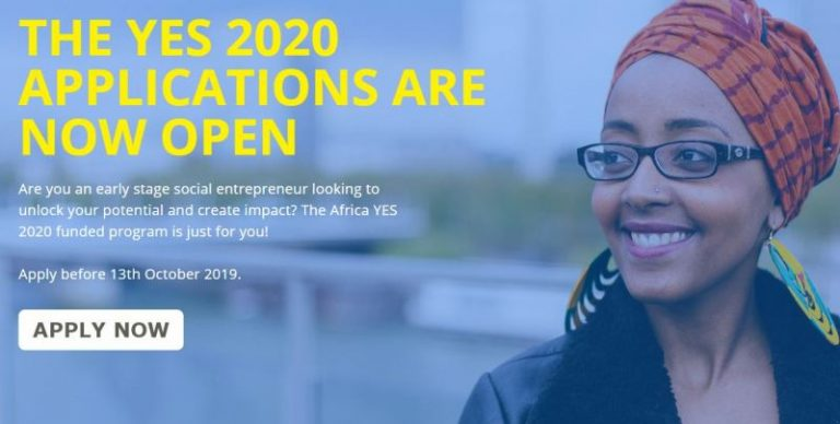 Apply For Africa Young Entrepreneur Support (YES) Program 2020