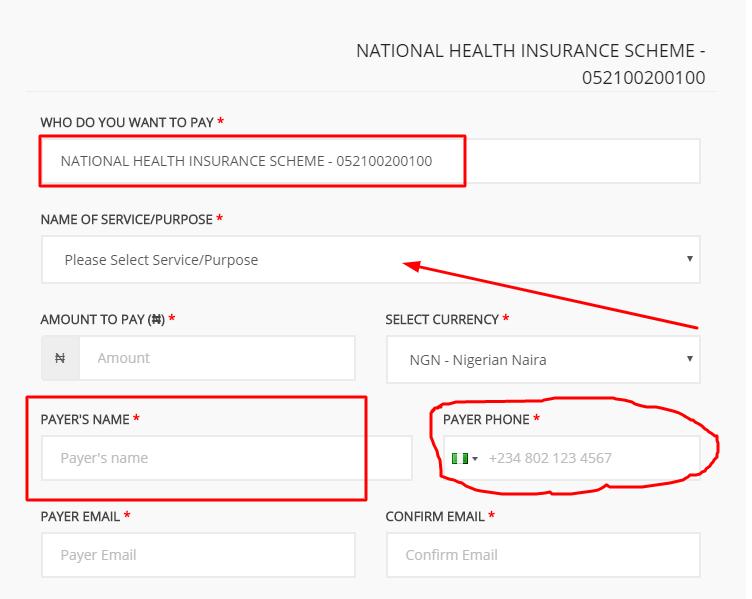 How to Generate Remita Code for National Health Insurance Scheme (NHIS Remita)
