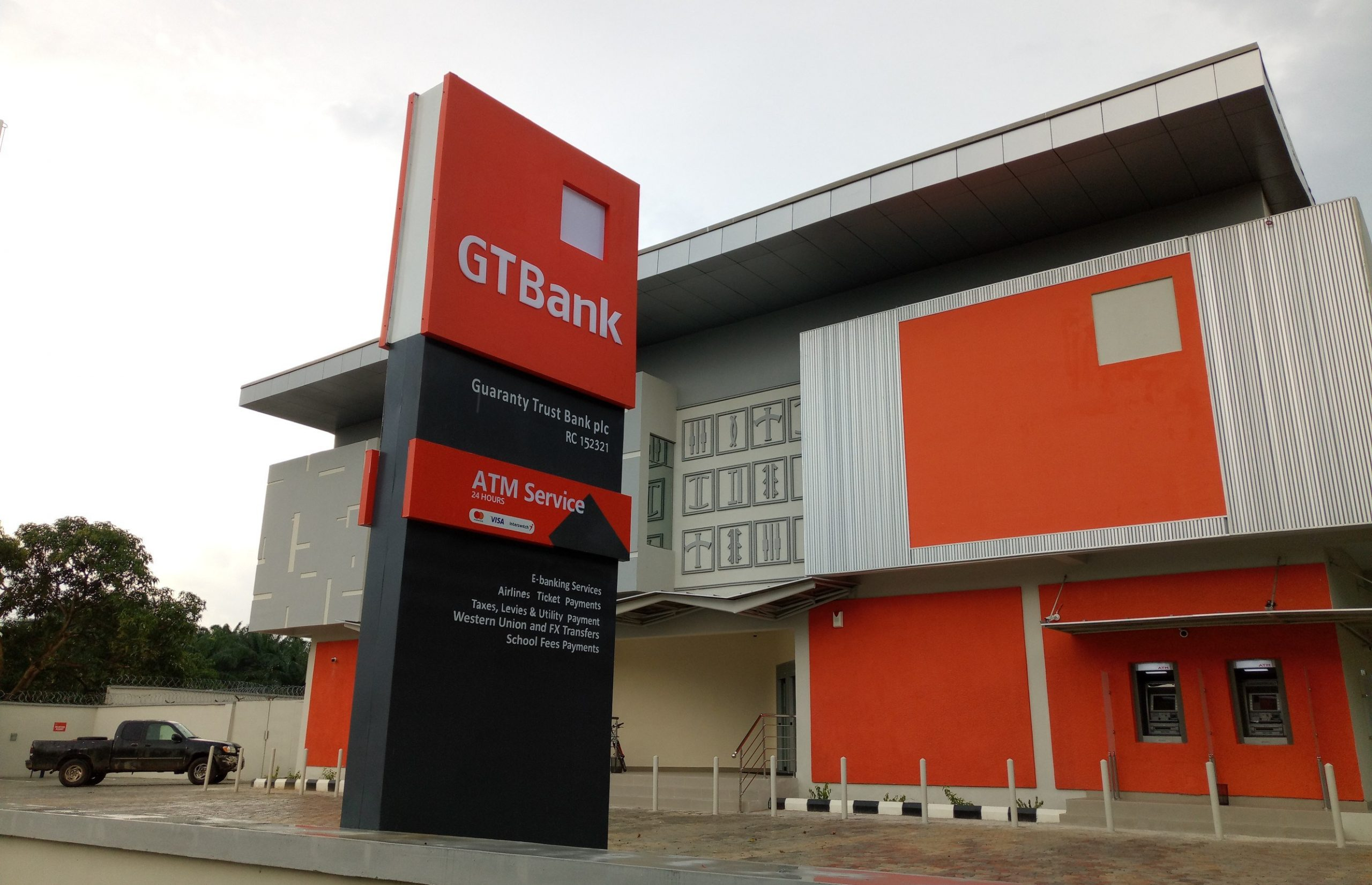 Guaranty Trust Bank plc is a foremost Nigerian financial institution with vast business outlays spanning Anglophone West Africa and the United Kingdom.