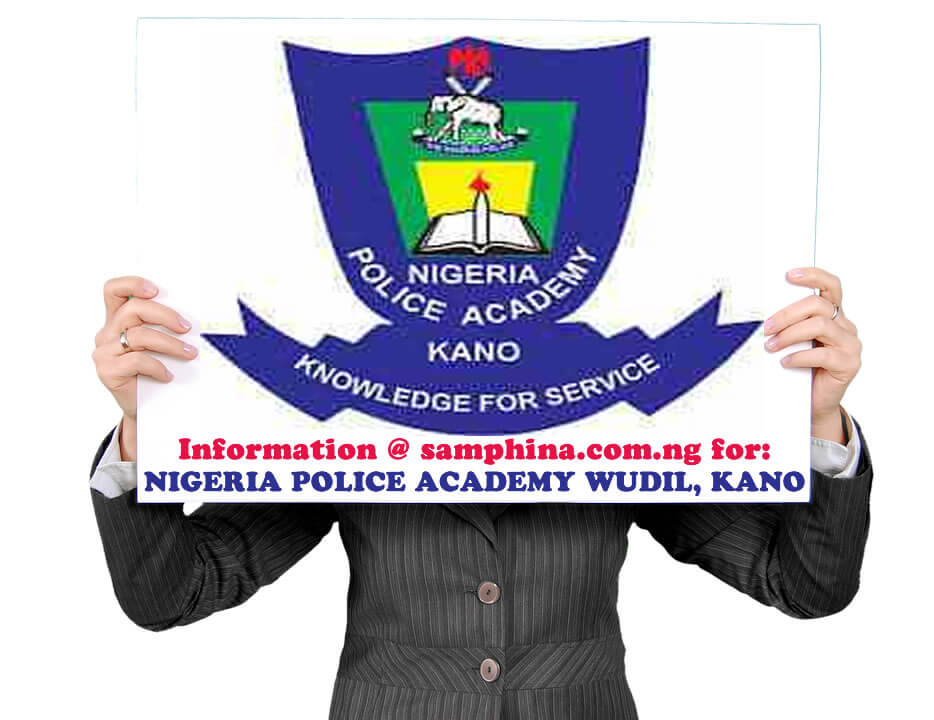 Nigerian Police Academy Application Form