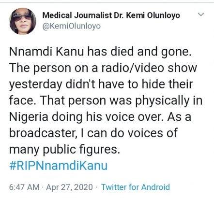 nnamdi kanu is dead