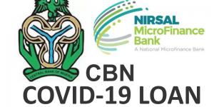 CBN Covid 19 Loan Application
