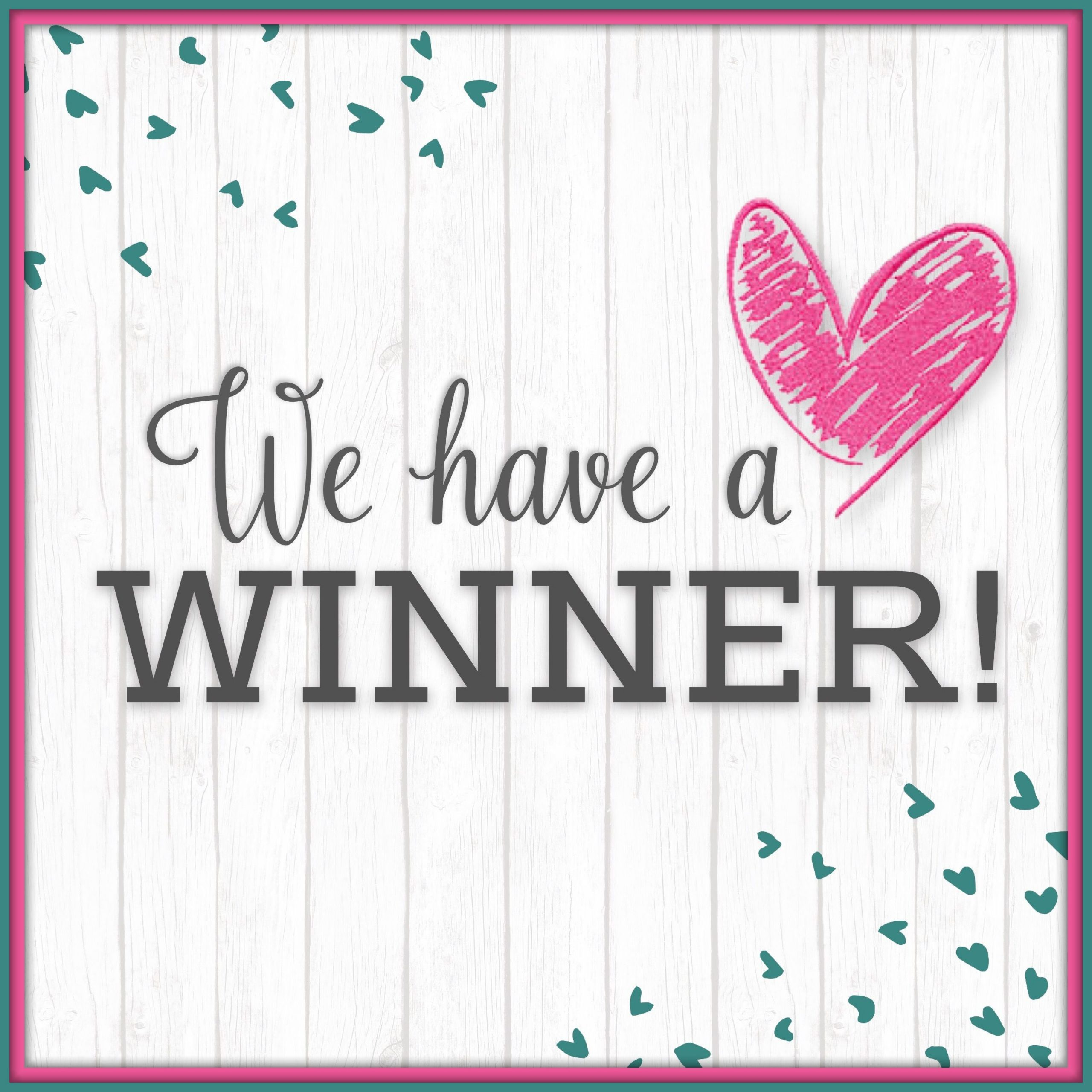 Hurray! Our Giveaway Winners have been Selected (You can participate in the next one)