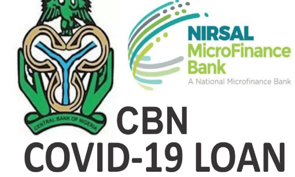 CBN Covid19 Loan: If you received a message that your loan is approved, Read this guide
