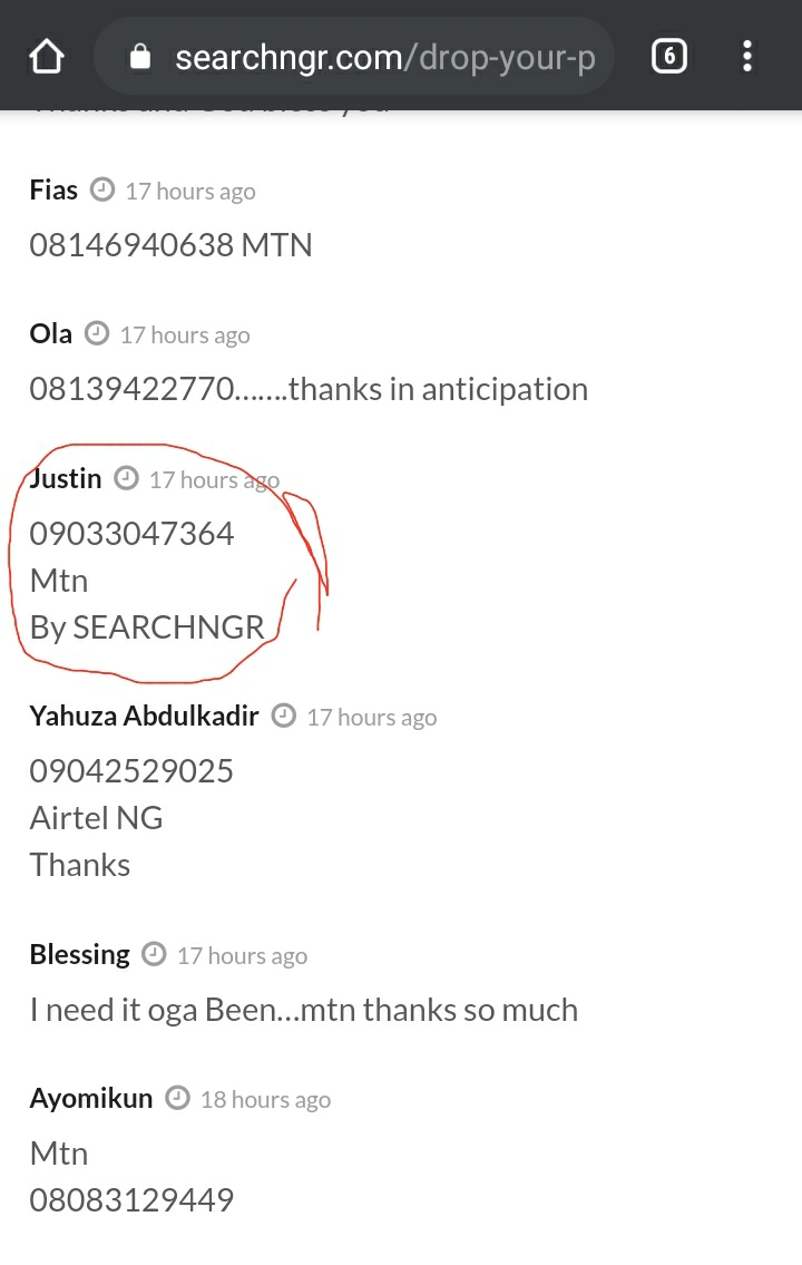 Friday Winners have been selected for FREE Airtime (Congratulations) 1