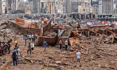 Photos from Lebanon Explosion today