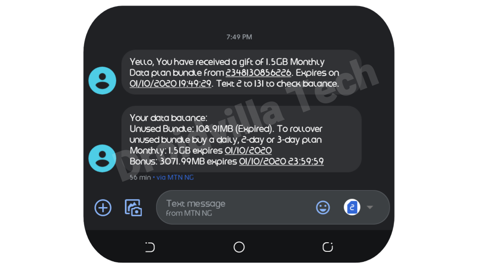 Awoof! How To Get Free MTN 3GB LTE Data Bonus