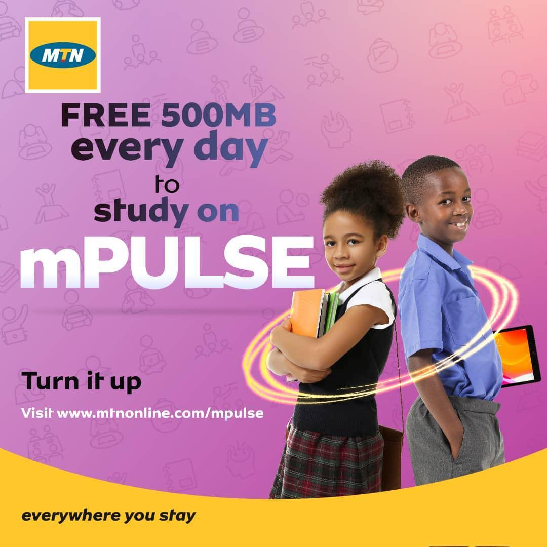 Get FREE 500MB Daily on MTN (See Details)
