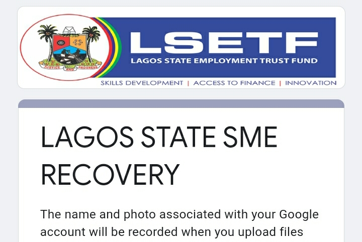 If your business is based in Lagos and it got looted, Fill this form to get FREE Funding 1
