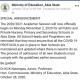 Abia State Announces Resumption of Schools