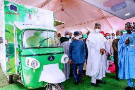 President Buhari Re-Launches P-YES Application Programme 2020