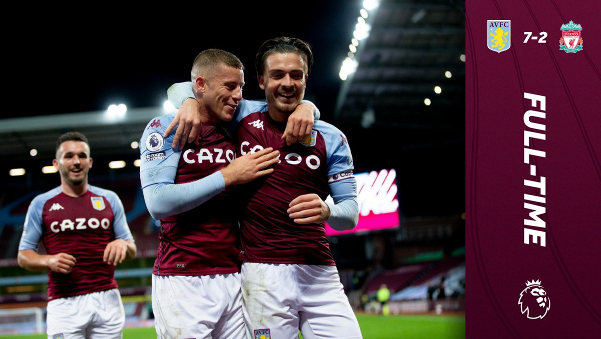 Full Highlight - Liverpool Vs Aston Villa (2 -7) - Video ...