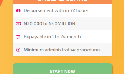 Boabab Bank Begins Disbursing N16B to Customers without Collateral- See how to Apply