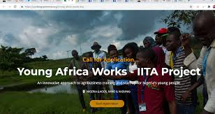Update: 2020 Young Africa Works IITA Project And Training Program for Nigerians 1