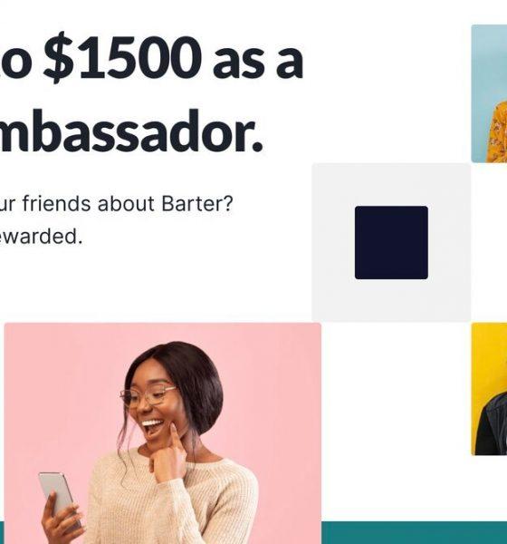Update on: 2021 Flutterwave's Barter Student Ambassador Program – Application 1