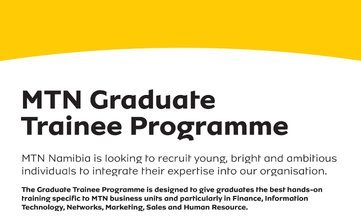 MTN Global Graduate Development Programme 2021 for young graduates for Swaziland