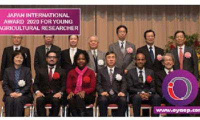 Japan International Award for Young Agricultural Researchers (Japan Award) 2021