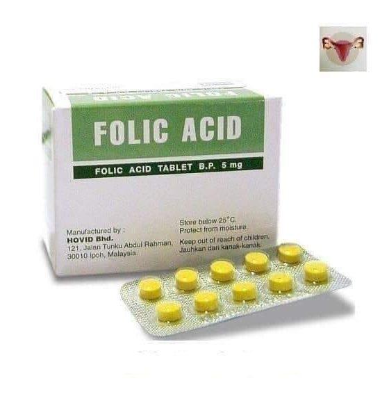 2021: Importance of Folic Acid to Pregnant Women