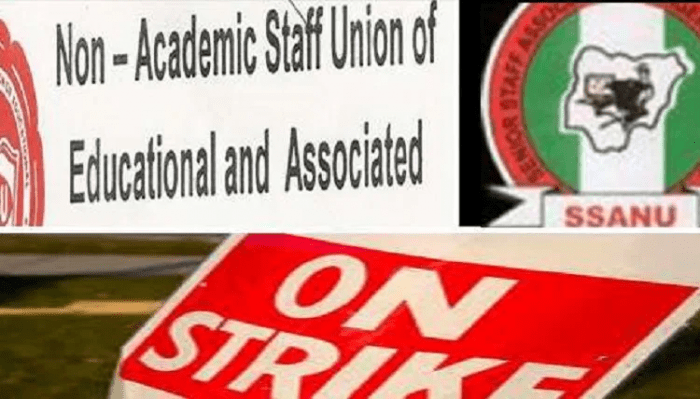 Breaking: SSANU, NASU begin Nationwide strike Feb 5