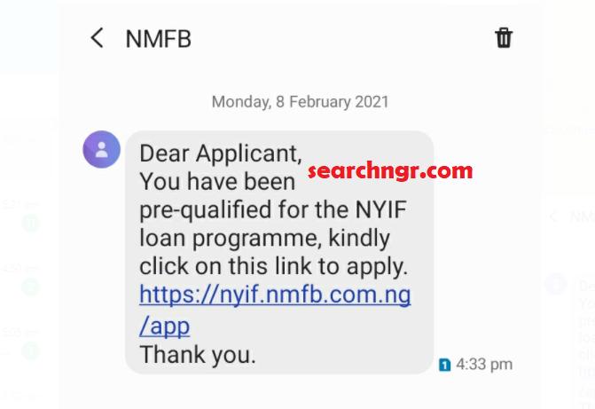 NYIF begin Shortlisting Candidates for Disbursement (See message)