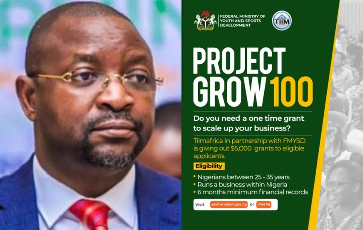 FG Project Grow 100 Supplementary Application 2021 Begins - Get $5,000 in Grant