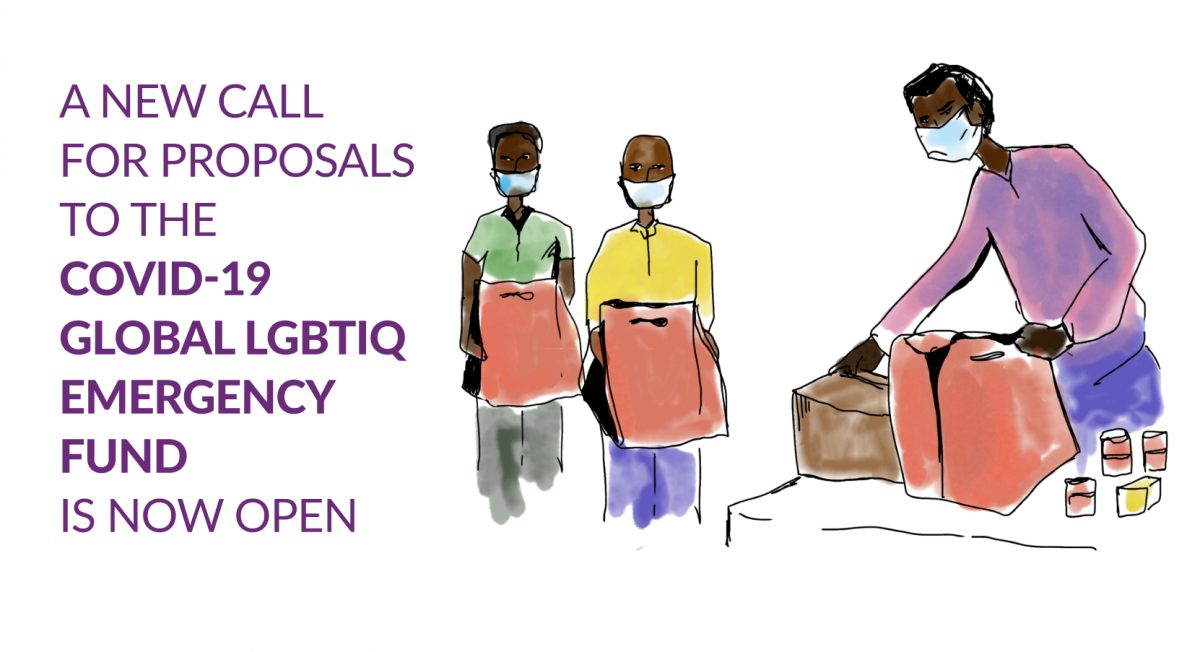 Apply for COVID-19 Global LGBTIQ Emergency Fund (Up to $20,000 in Cash)