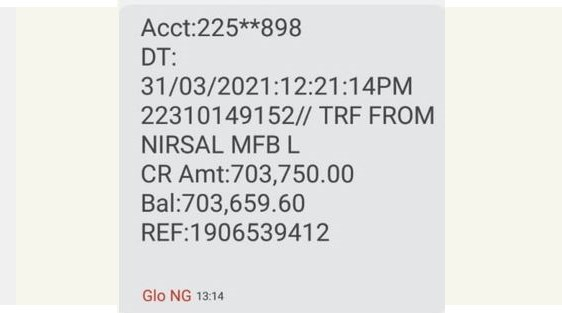 CBN Nirsal Covid-19 Loan Disbursement Rolling (Have you received Alert)