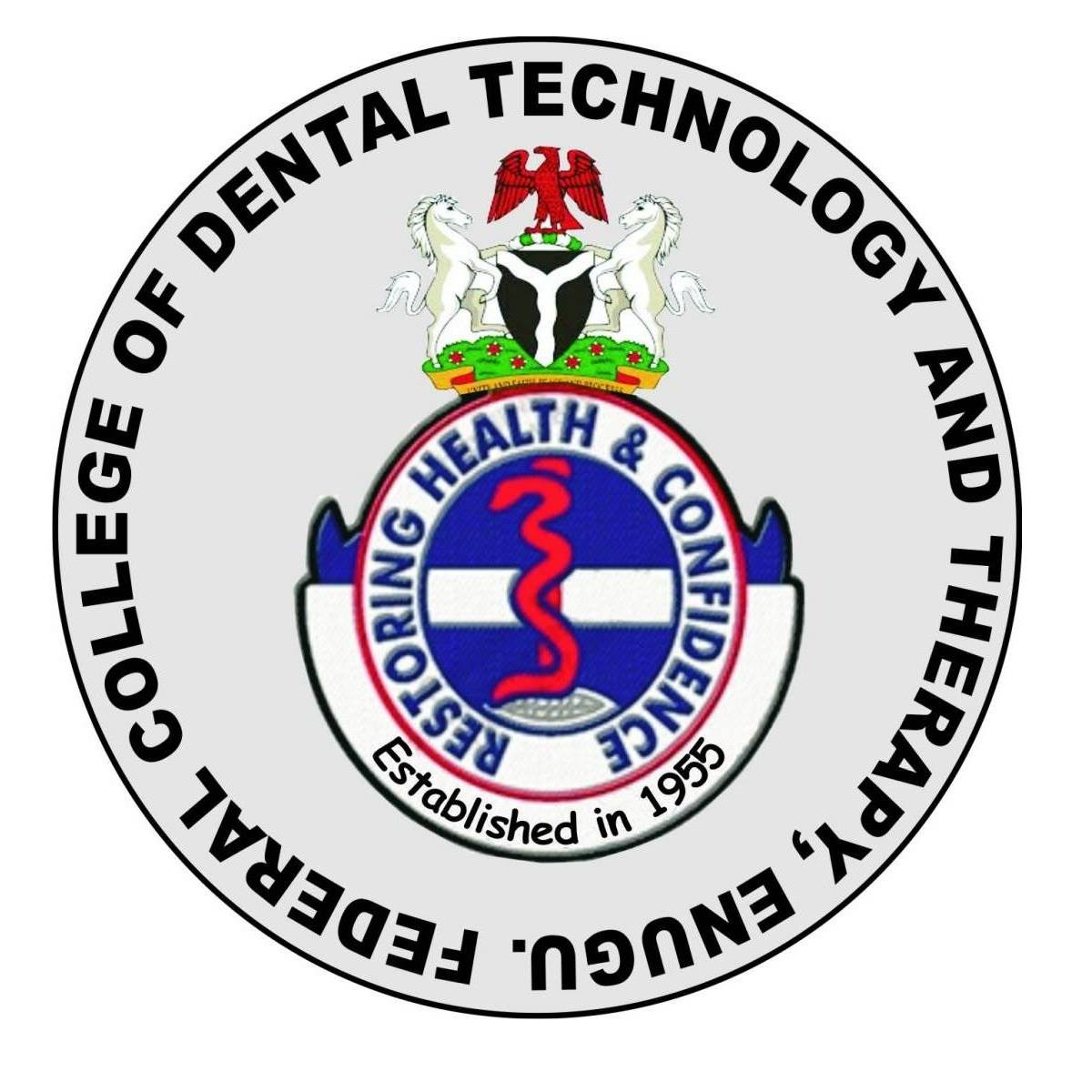 Federal School of Dental Technology & Therapy Enugu (FEDCODTTEN) Admission List for 2020/2021 Academic Session | ND & Degree 1
