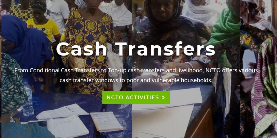 National Cash Transfer Program Application Form Portal 2021 - www.ncto.gov.ng