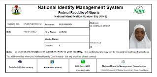 Step-by-Step Guide on How to Print Improved NIMC Slip Online