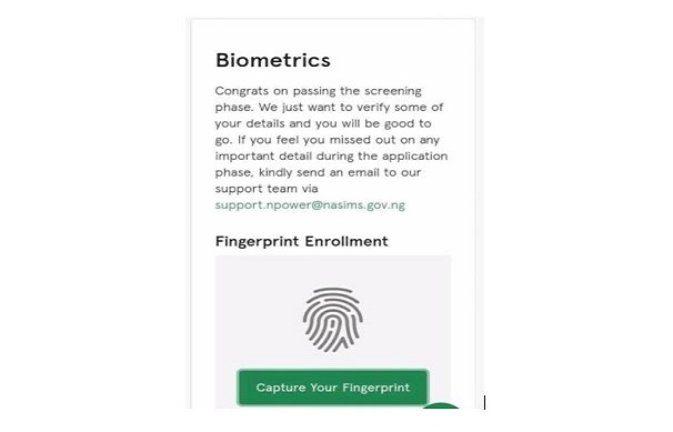 Just IN: How to Check your Npower Batch C' Status and Capture Your (Biometrics) Thumbprint