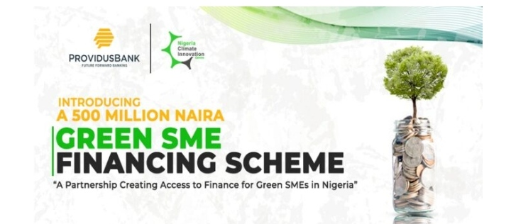 Green SME Financing Scheme (₦500 Million to be disbursed) For Green Eligible SMEs In Nigeria