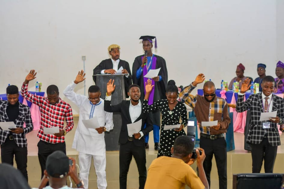Federal University of Technology Akure (FUTA) Inaugurates New Student Union Leaders for 2020/2021 Academic Session 1