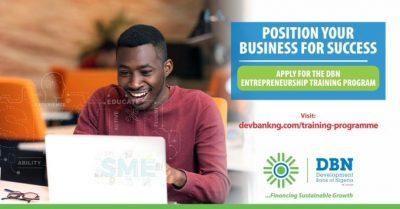 Development Bank of Nigeria (DBN) Entrepreneurship Training Program 2021 1