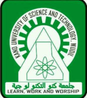 Kano University of Science and Technology (KUST) Registration Deadline for 2020/2021 Academic Session 1