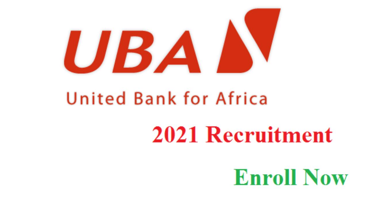 Jobs: Massive Recruitment at UBA Bank 2021 (Jobs Available For Graduates)