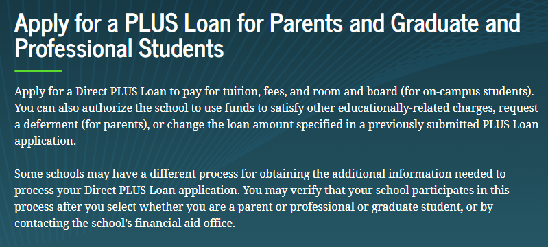 United States: How to Apply for a Direct PLUS Loan for Parents 2021