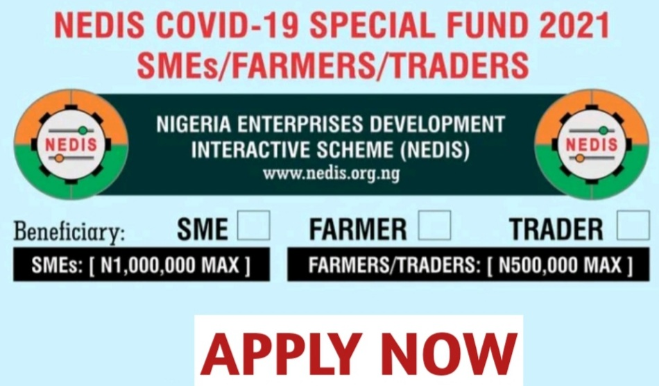 NEDIS Covid-19 Special Fund 2021 Application - How to Apply Online