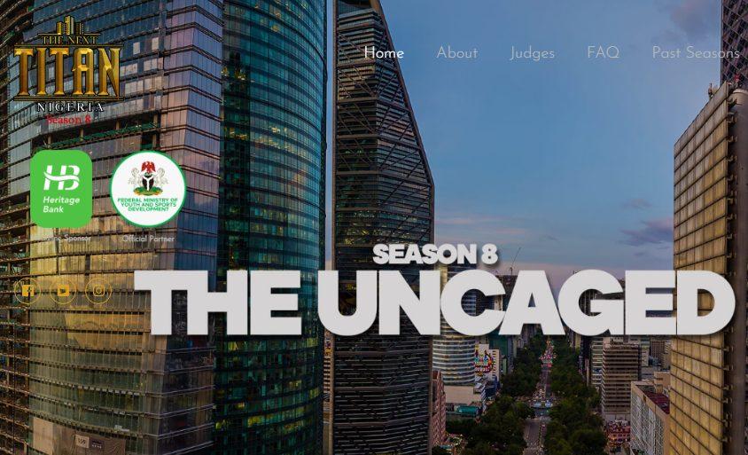Apply for the Next Titan Nigeria Season 8 2021